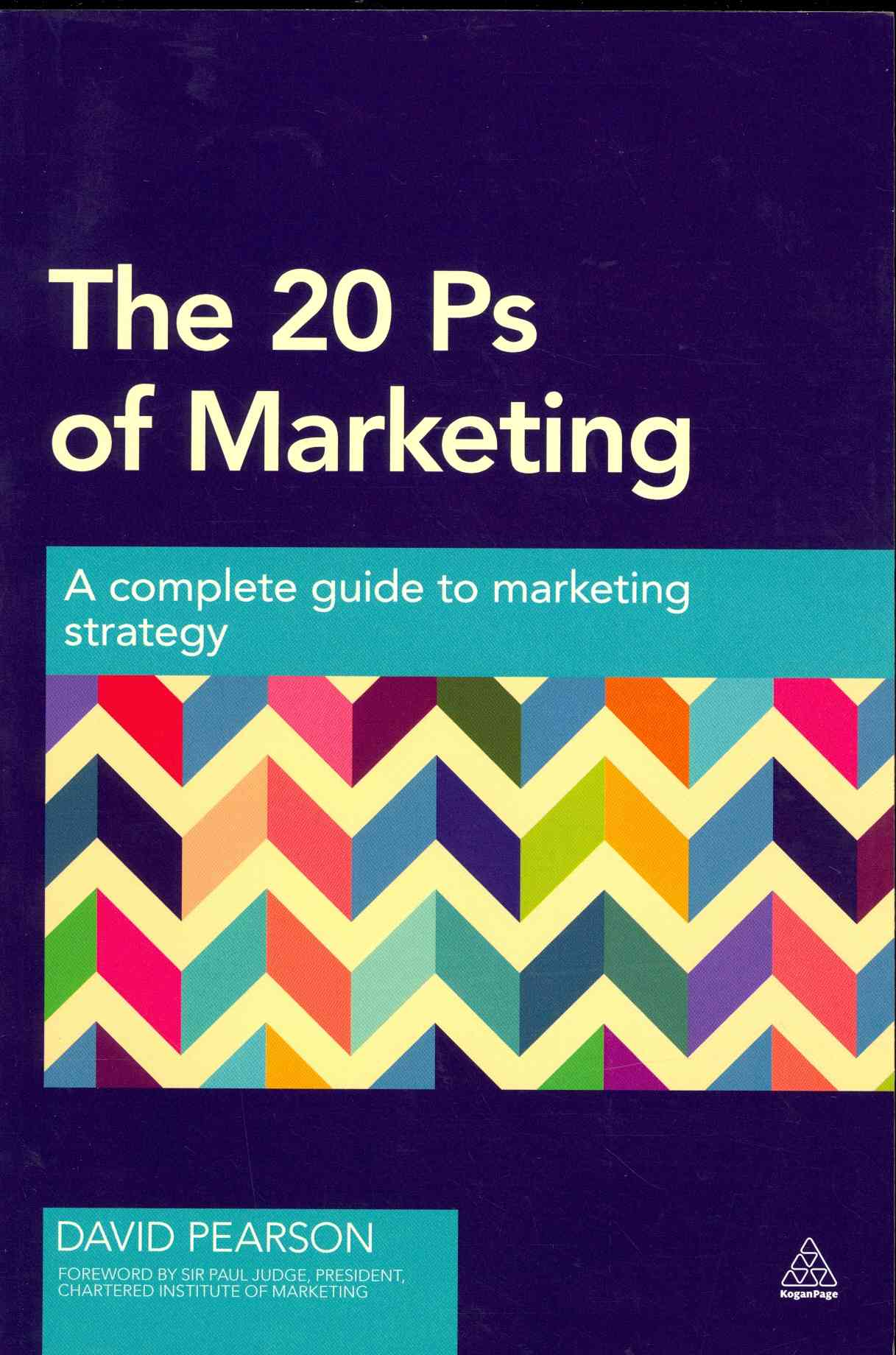 The 20 PS of Marketing By Pearson, David