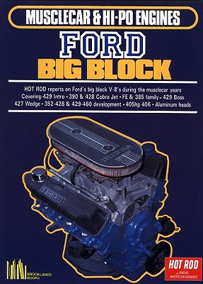 Musclecar And Hi-po Engines Ford Big Block By Clarke, R. M.